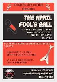Musical Life Denver Presents: April Fool's Ball at YMH