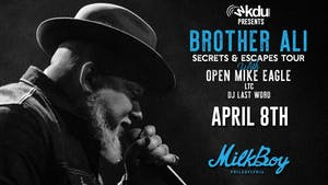 *POSTPONED TO DATE TBD* Brother Ali