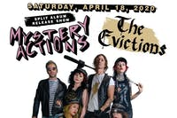 """Mystery Actions/The Evictions 7"""" Split Release Show"""