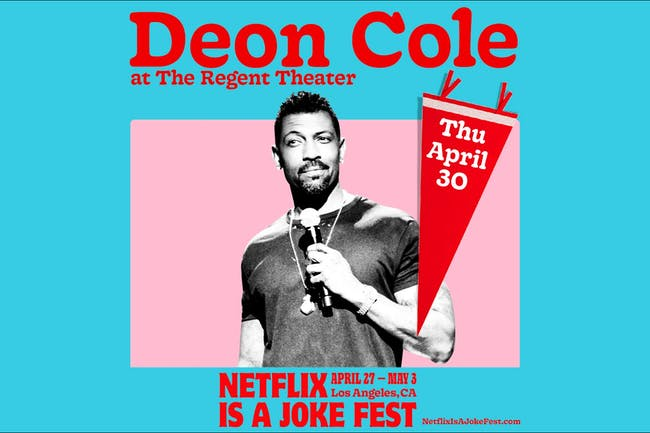 Netflix Is A Joke Presents: Deon Cole: Coleology Tour