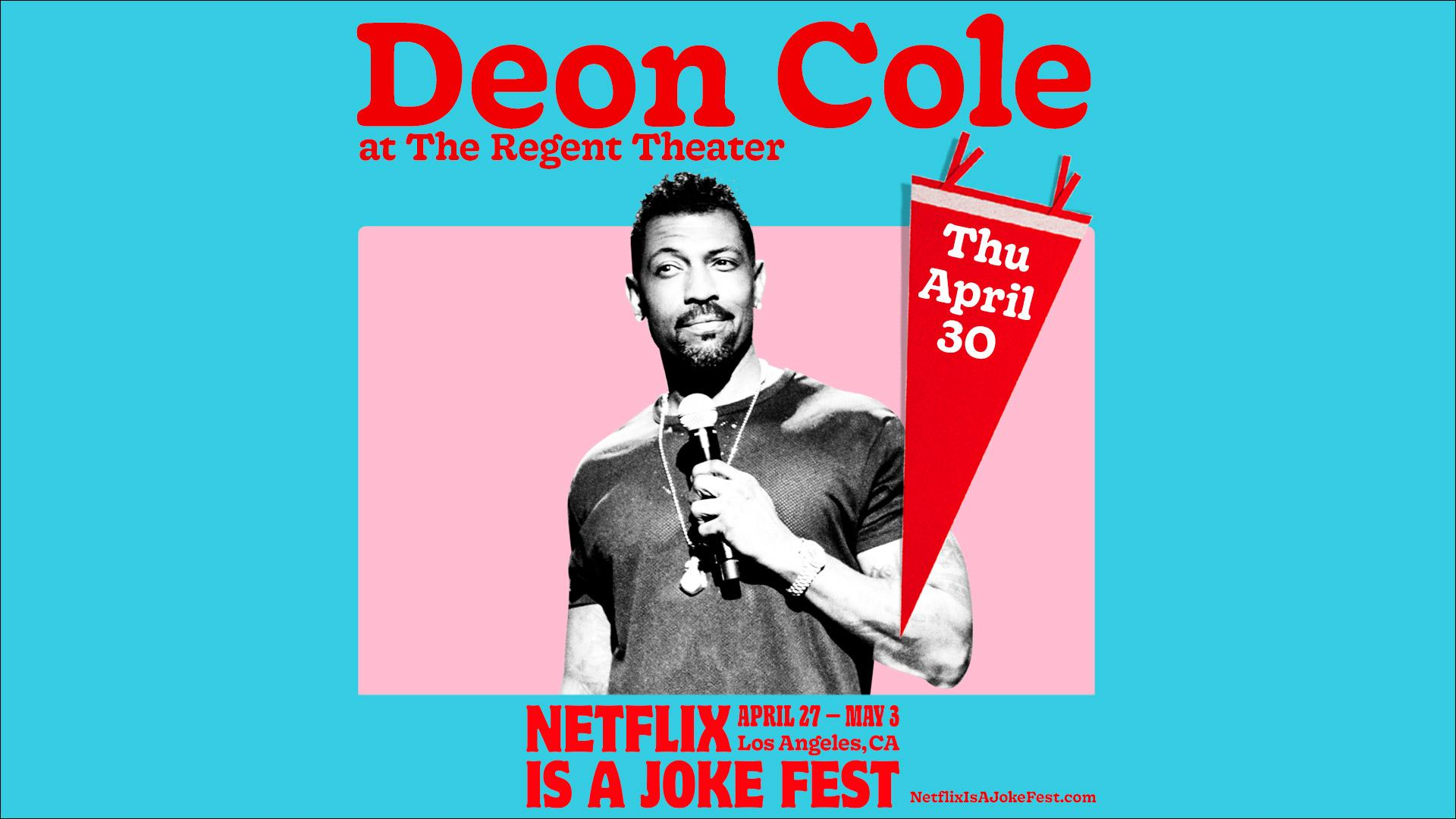 Netflix Is A Joke Presents: Deon Cole: Coleology Tour