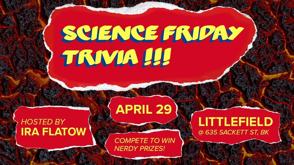 SciFri Trivia Night: Playing with Fire