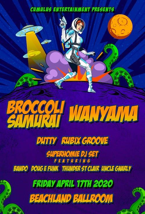 Broccoli Samurai + Wanyama