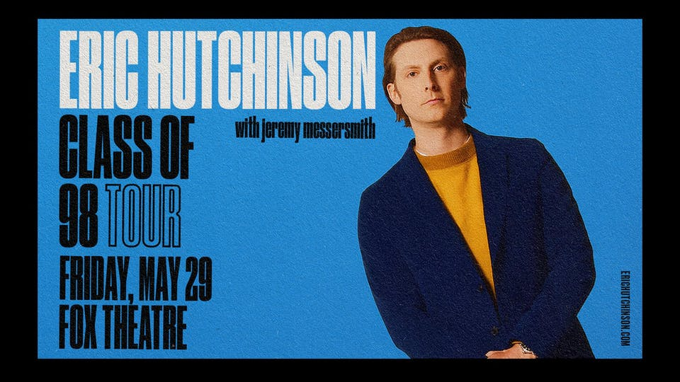 ERIC HUTCHINSON with JEREMY MESSERSMITH