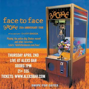 """Face To Face performing """"Big Choice"""" in its entirety!"""