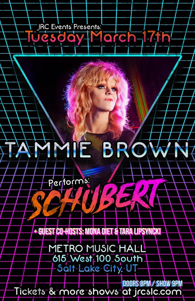 "Tammie Brown performs ""Schubert"" *Seated Event*"