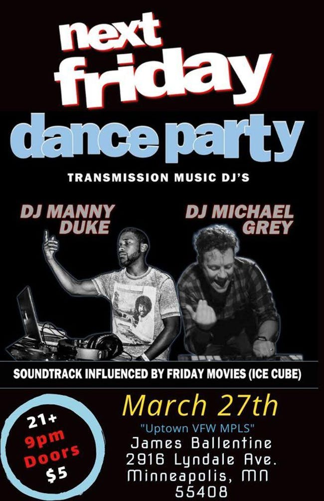 Next Friday Dance Party