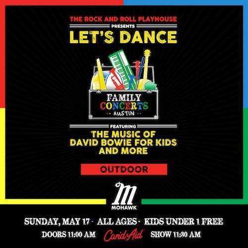 Let's Dance ft. Music of David Bowie for Kids and More @ Mohawk