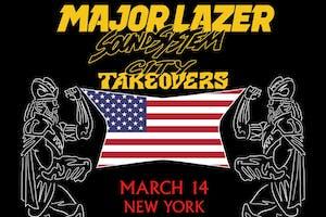 Major Lazer - Soundsystem City Takeover