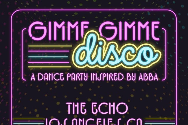 Gimme Gimme Disco: A 70s Disco Party (moved to July 17, 2020)