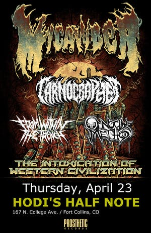 Micawber w/ Carnographer, Genocide Method, From Within the Trench