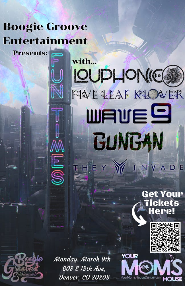 Louphonic | Five Leaf Klover | Wave 9 | Gungan | They Invade