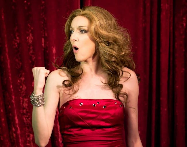 Morgane LaTouche as Celine Dion - MATINEE