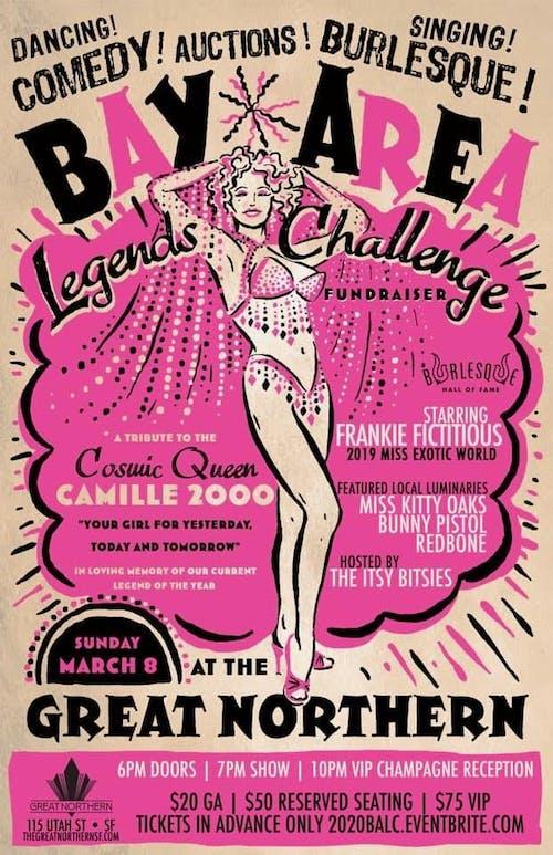 2020 Bay Area Legends Challenge Fundraiser