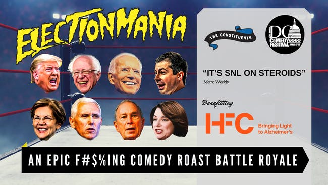 POSTPONED | DC Comedy Festival: ElectionMania by The Constituents