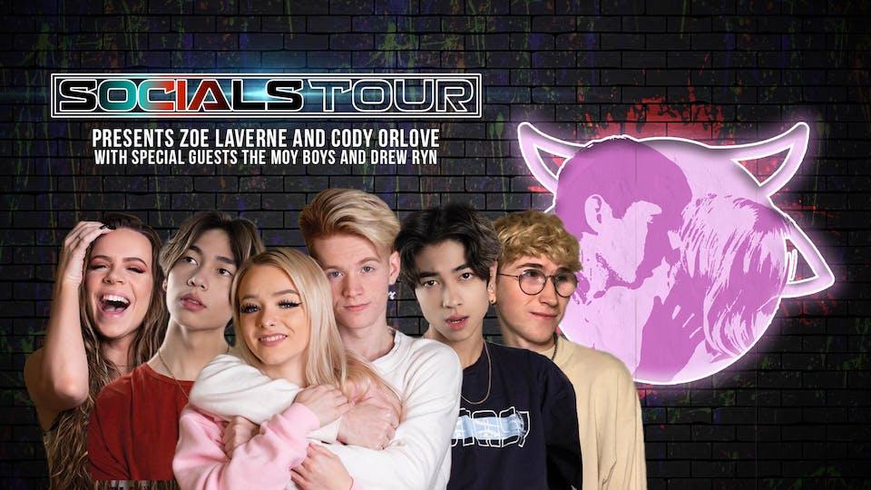 SOCIALS TOUR PRESENTS (Night 1)