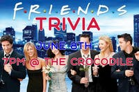 Friends Trivia Night @ The Back Bar