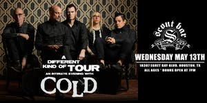 An Intimate Evening with COLD - POSTPONED - NEW DATE COMING SOON