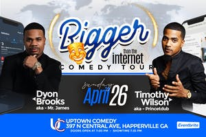 Bigger Than The Internet Comedy Tour