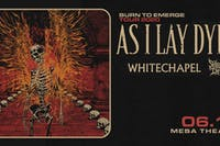 As I Lay Dying w/ Whitechapel + Shadow of Intent at Mesa Theater