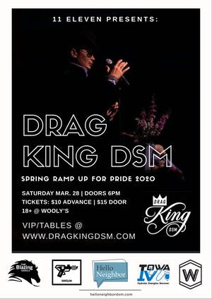 CANCELLED: Drag King