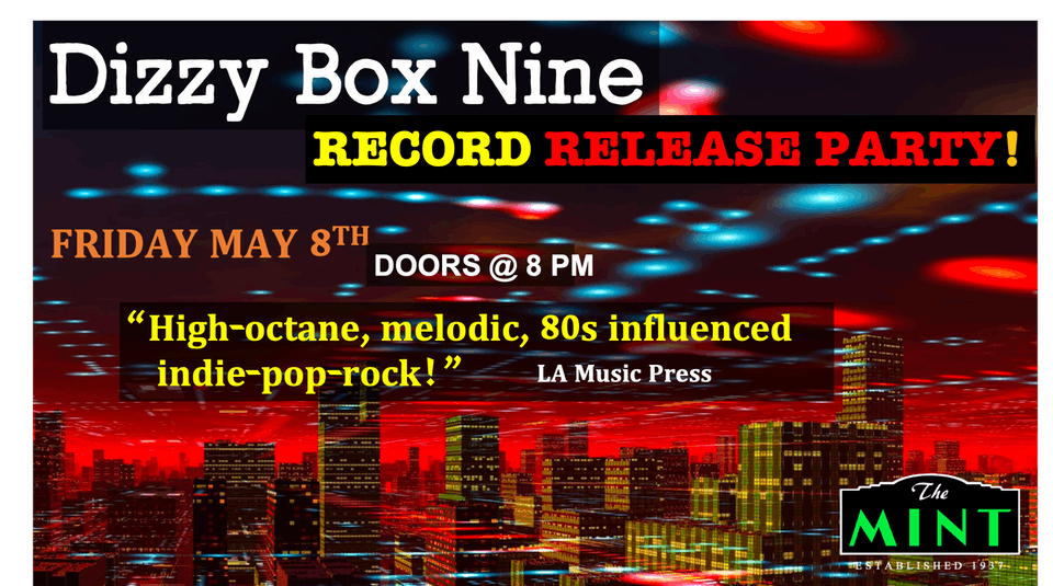 Dizzy Box Nine, Rogue, The Ex Teens, Elevater, Unsound Foundation