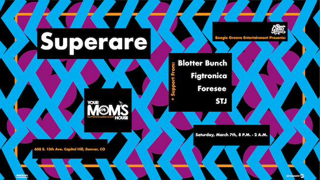 Superare // STJ // Blotter Bunch // Figtronica // Foresee