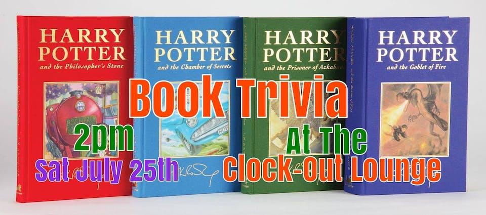 Harry Potter Books Trivia: 1-4