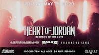 Heart of Jordan | 8/14 at The Loft