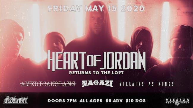 Heart of Jordan   8/14 at The Loft