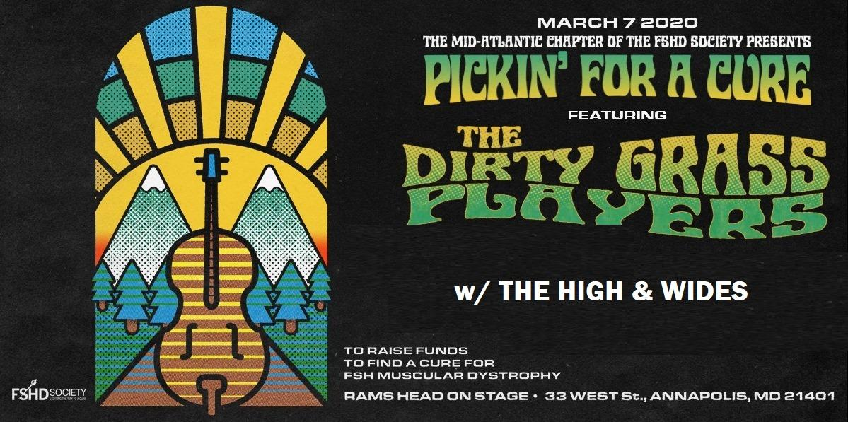 Pickin For A Cure ft. The Dirty Grass Players w/ The High & Wides