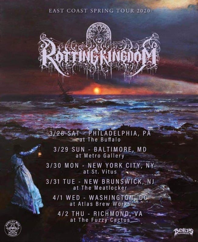 Rotting Kingdom, Drownyard, Carcosa, Cranial Damage