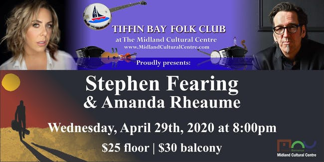 Stephen Fearing with Amanda Rheaume