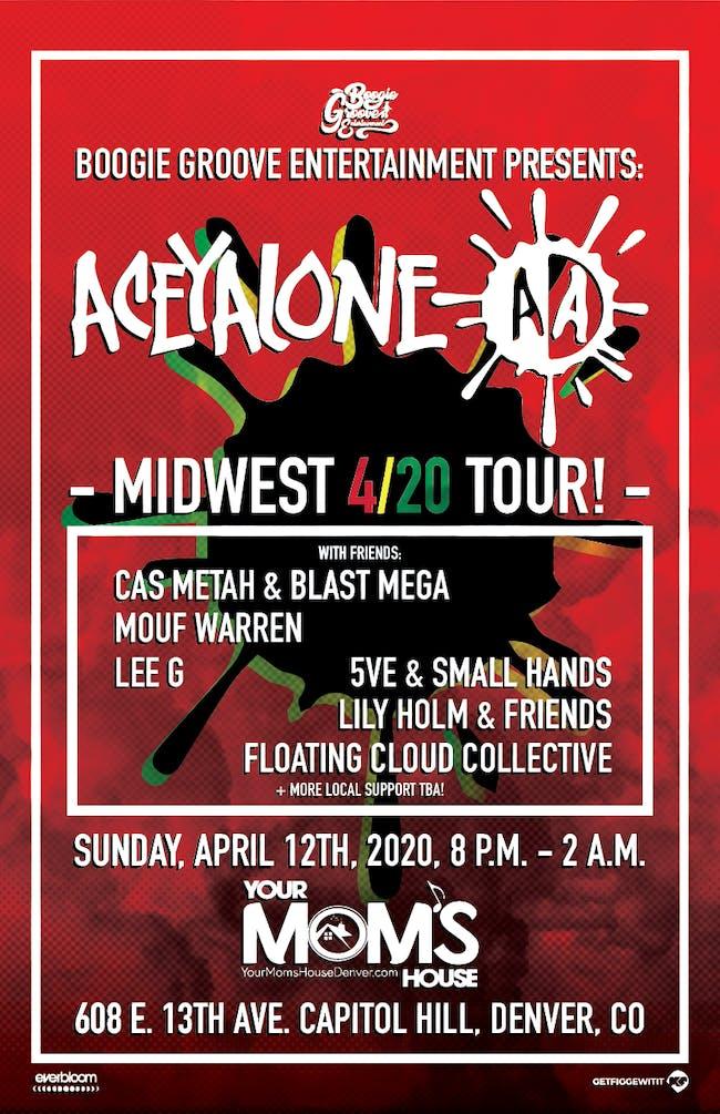 Aceyalone w/ Cas Metah & Blast Mega (Pow Bundy) Mouf Warren/ More
