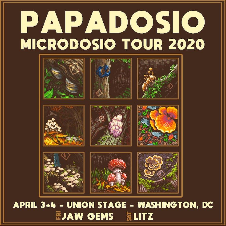 RESCHEDULED | Papadosio - Microdosio Tour 2020