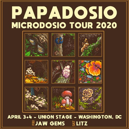 RESCHEDULED | Papadosio - Microdosio Tour 2020