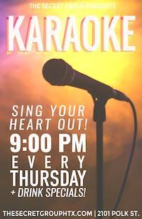 Karaoke every THURSDAY