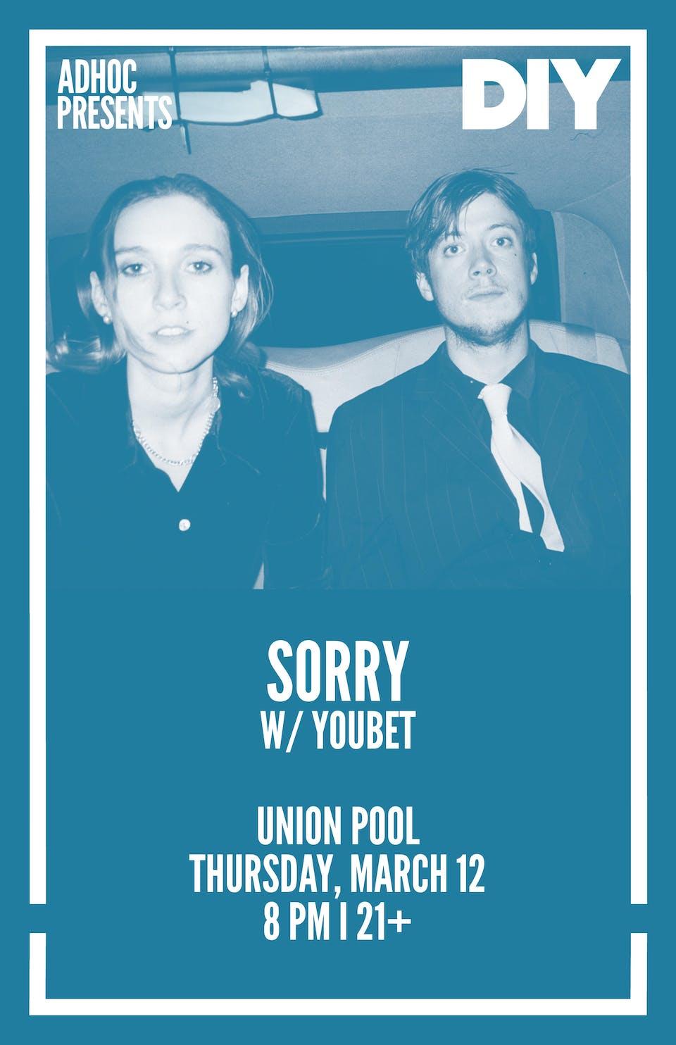 Sorry • Youbet