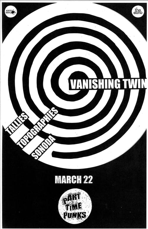 Vanishing Twin (rescheduled from 3/22/20)