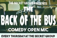 The Back of the Bus Comedy Open Mic