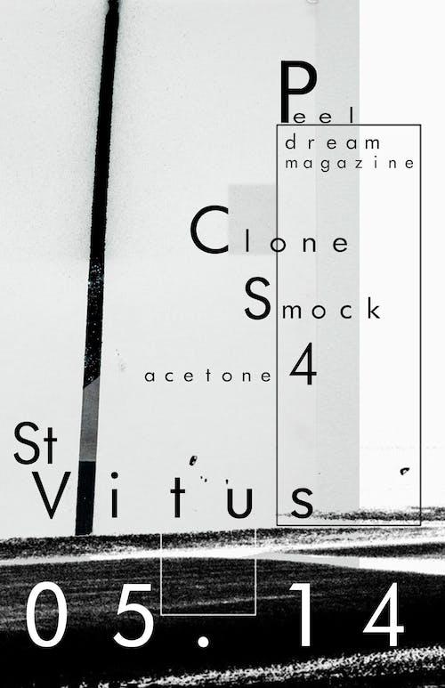 Peel Dream Magazine, Clone, Smock, Acetone 4