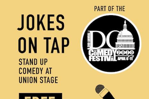 POSTPONED | DC Comedy Festival: Jokes on Tap