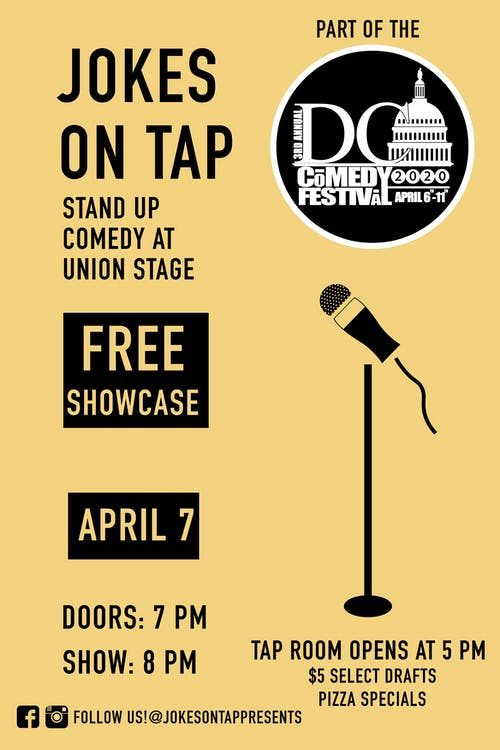 POSTPONED | DC Comedy Festival: Jokes on Tap