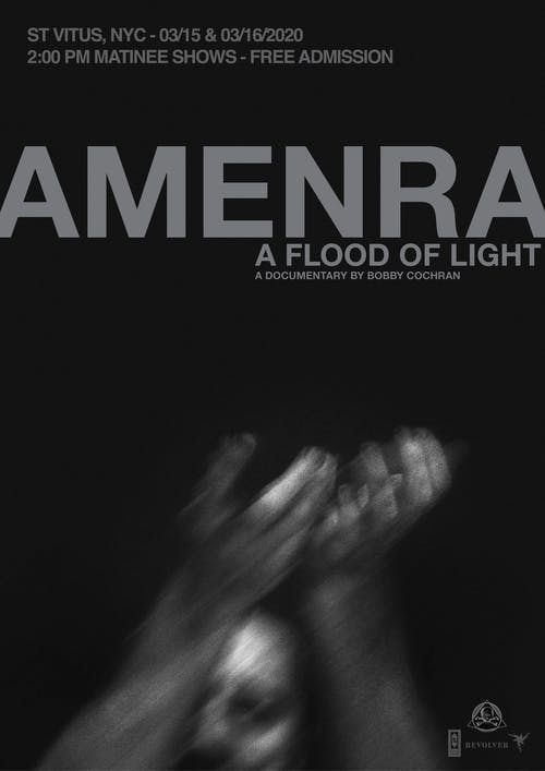 Amenra: A Flood of Light Documentary Screening