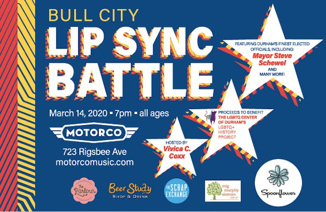 POSTPONED - 2nd Annual Bull City Lip Sync Battle