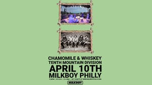 *CANCELED* Chamomile & Whiskey (Album Release) + Tenth Mountain Division