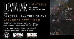 Loviatar -  Lightless Record Release Show - postponed