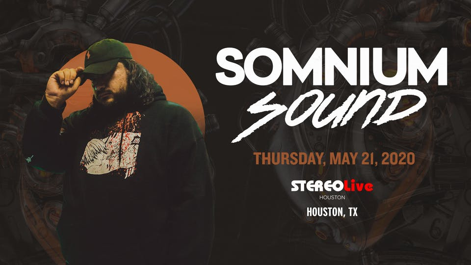Somnium Sound - Stereo Live Houston
