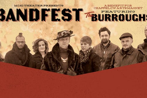 BANDFEST Featuring: The Burroughs and Bob Purcell at Moxi Theater