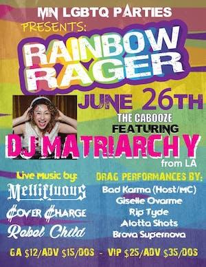 MN LGBTQ PARTIES PRESENTS: RAINBOW RAGER
